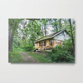Mineral Springs - Spa House Metal Print