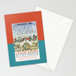 Leslie Knope for City Council - Parks and Recreation Dept. Stationery Cards