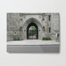 Yale - Graduation Gate Metal Print