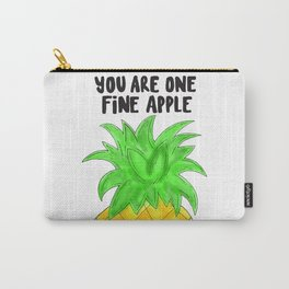 Pineapple Pun Carry-All Pouch
