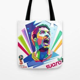 Luis Suarez Wold Cup 2018 Edition Tote Bag
