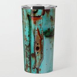 Texture Me Blue Travel Mug