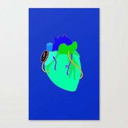 Countdown Heart Canvas Print