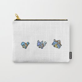 Blue Evolutions Squirtle/Wartortle/Blastoise Carry-All Pouch