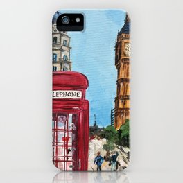 London Street iPhone Case