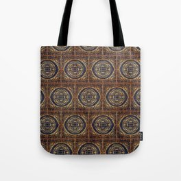 Grecian Bath House Tiles  Tote Bag