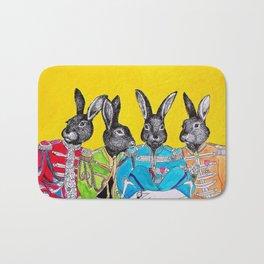 Rabbits band Bath Mat