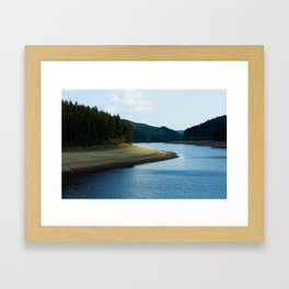 Derwent Reservoir Framed Art Print