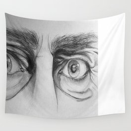 Starring Death in the Face Wall Tapestry