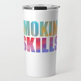 Funny Do You Have The Skills To Survive? People T-Shirt Gift Travel Mug