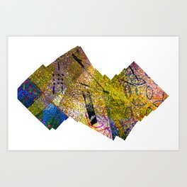 Wiggle Worm Art Print
