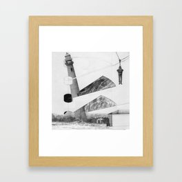 carried from the wreckage Framed Art Print