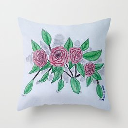 Roses VI Throw Pillow