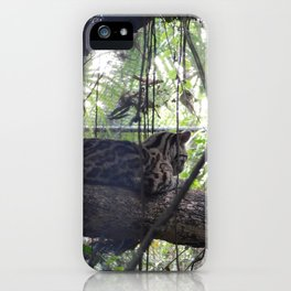 Officious Ocelot iPhone Case