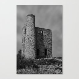 Giew Mine Cripplease Cornwall Canvas Print