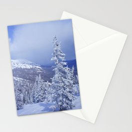 Winter day 27 Stationery Cards