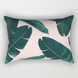 Banana Leaves - Cali Vibes #1 #tropical #decor #art #society6 Rectangular Pillow