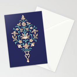 Arabic texture inspired by iranian mosaics Stationery Cards