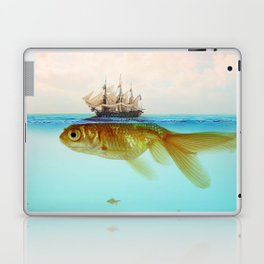 Goldfish Tall Ship Laptop & iPad Skin