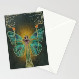 Keeper Of The Ancient Flame Stationery Cards