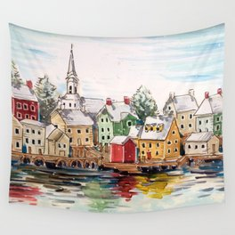 Portsmouth, New Hampshire Wall Tapestry