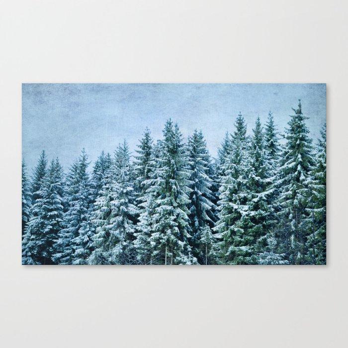 xmas trees Canvas Print