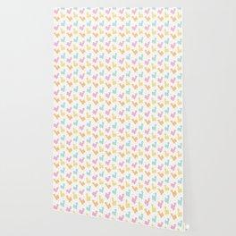 Pastel Kawaii Llamas Wallpaper