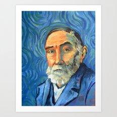 Gottlob Frege Art Print