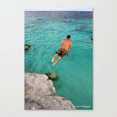 Flat Rock Canvas Print