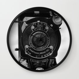 Vintage Kodak Camera Wall Clock