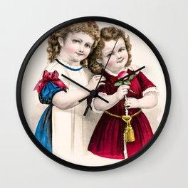 Mamas Darlings Wall Clock