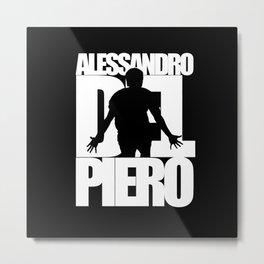 Name: Del Piero Metal Print