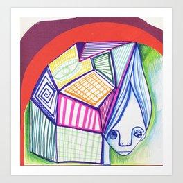 Labirint Art Print