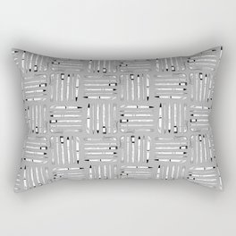 Weapons Of Mass Creation (on grey) Rectangular Pillow