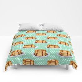 Pancakes & Dots Pattern Comforters