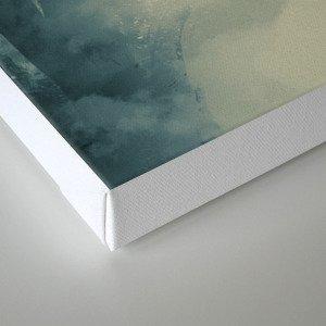 on the edge Canvas Print