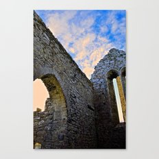 Corcomroe Abbey Arch Canvas Print