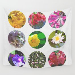 Where flowers bloom so does hope. Wall Tapestry