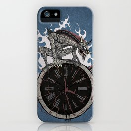 Guardian of Time iPhone Case