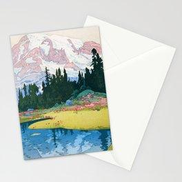Yoshida Hiroshi - Mt.rainier - Digital Remastered Edition Stationery Cards