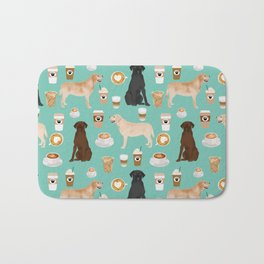Labrador retriever gifts for lab owners golden retriever chocolate lab black lab dog breeds Bath Mat
