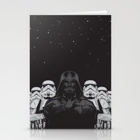animal crew Stationery Cards featuring The crew by Roland Banrevi