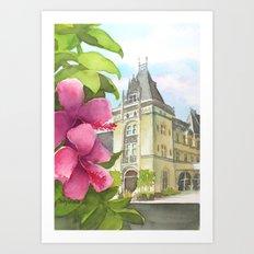 Biltmore Estate Art Print