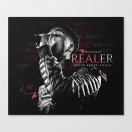 YoungBoy Never Broke Again - Realer Canvas Print