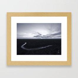 Mysterious Milton Reimer Ranch - Texas Hill Country Framed Art Print