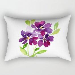 Violet Femmes Rectangular Pillow