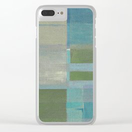 Parallel Bars 2 Clear iPhone Case
