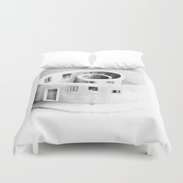 Windows of Perception Duvet Cover