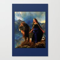 narnia Canvas Prints featuring Narnia by Whelan Galleries