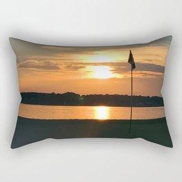 Bathe The Flag Rectangular Pillow